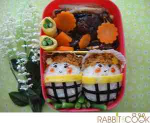 Bento # 150 - Two little girls Bento