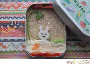 Bento # 128 - Shower time Bento