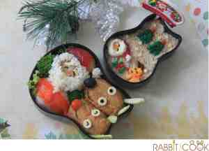 Christmas bento for Casa Bento 2012 contest