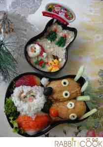 Christmas Bento for Casa Bento Contest